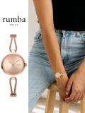 Rumba,Time,ルンバ,タイム,時計,腕時計,ブランド,Gramercy,Round,Flat,Mesh,Rose,Gold,グラマシー,ラウンド,ローズゴールド,28362