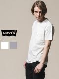 LEVI'S,リーバイス,Tシャツ,レディース,メンズ,ユニセックス,半袖,ブランド,無地,白,綿100%,ポケT,ポケットT,29813