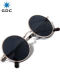 GDC,サングラス,メンズ,レディース,ユニセックス,ブランド,おしゃれ,かわいい,丸,黒,ブラック,丸メガネ,WANDERLUST,GGDC,眼鏡,33030-BLK