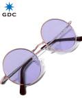GDC,サングラス,ブランド,おしゃれ,かわいい,丸,薄い,色,紫,丸メガネ,WANDERLUST,ワンダラスト,GGDC,眼鏡,メガネ,カラーレンズ,33030-PPL