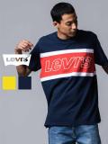 LEVI'S,リーバイス,Tシャツ,レディース,メンズ,ユニセックス,半袖,ブランド,綿100%,カラー,ブロック,切り替え,ロゴ,LEVIS,Levi's,79594