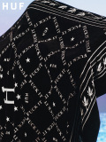 HUF,ハフ,ブランケット,大判,ひざ掛け,おしゃれ,かっこいい,かわいい,黒,ブラック,DUSK,BLANKET,FUCK,IT,マイクロファイバー,AC00269