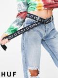 HUF,ハフ,ベルト,メンズ,レディース,ユニセックス,ブランド,大きいサイズ,穴なし,ダブルリングベルト,FUCK,IT,BELT,AC00274-DN