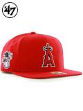 47Brand,フォーティセブン,キャップ,メンズ,Angels,Sure,Shot,47,CAPTAIN,エンゼルス,シュアショット,キャプテン,MLB01017,B-SRS04WBP-RD