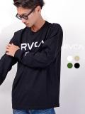 RVCA,ルーカ,Tシャツ,メンズ,レディース,ユニセックス,長袖,大きい,おしゃれ,かわいい,ブランド,BIG,RVCA,LS,TBA042-054