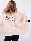 RVCA,ルーカ,アウター,MA-1,レディース,大きいサイズ,冬,ショート丈,おしゃれ,かわいい,ブランド,モコモコ,HOTH,MA-1,JACKET,BA044-756