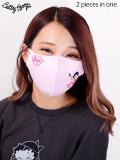 Betty,Boop,ベティちゃん,グッズ,マスク,洗える,メンズ,レディース,洗えるマスク,ファッションマスク,3Dマスク,BETTY-MASK20-P