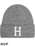 HUF,ハフ,キャップ,ニット帽,メンズ,レディース,ユニセックス,帽子,CLASSIC,H,BEANIE,クラシック,ニットキャップ,BN00074-G