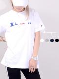 CHAMPION,チャンピオン,Tシャツ,レディース,メンズ,ユニセックス,半袖,刺繍ロゴ,ブランド,綿100%,ロゴ,Cロゴ,ロゴ刺繍,日本規格,C3-R305