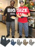 COOKMAN,クックマン,シェフパンツ,chef,pants,メンズ,レディース,おしゃれ,かわいい,BIG,SIZE,XXL,XXXL,COOKMAN-PANTS-BIG-PATTERN