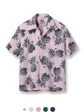 サンサーフ SUN SURF デューク・カハナモク DUKE KAHANAMOKU アロハ シャツ パイナップル 東洋 DK36201 日本製 アメカジ ○