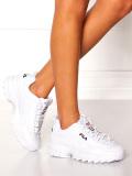 FILA,フィラ,スニーカー,レディース,メンズ,白,ホワイト,ダッドシューズ,ダッドスニーカー,DISRUPTOR,2,靴,シューズ,F0215-1072