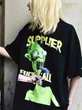 SUPPLIER,サプライヤー,Tシャツ,メンズ,レディース,半袖,ブランド,大きいサイズ,ゆったり,綿,おしゃれ,かわいい,FUCK,Y,ALL,TEE,B