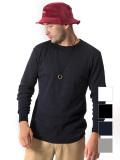 Hanes,ヘインズ,Tシャツ,サーマル,ロンT,長袖,ロングTシャツ,パックTシャツ,サーマルT,ラウンドカット,HM4-G501