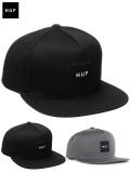 HUF,ハフ,キャップ,帽子,CAP,BOX,LOGO,SNAPBACK,ボックス,ロゴ,刺繍,LOGO,スナップバック,HTBSC0085