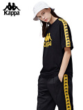 カッパ,Kappa,Tシャツ,メンズ,レディース,ユニセックス,大きいサイズ,黒,ブラック,BANDA,COLLECTION,バンダ,オムニ,K08Y2TD61M-B