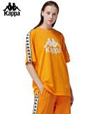カッパ,Kappa,Tシャツ,メンズ,レディース,ユニセックス,大きいサイズ,オレンジ,スポーツ,BANDA,COLLECTION,バンダ,オムニ,K08Y2TD61M-O