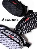 KANGOL,カンゴール,バッグ,ウエストバッグ,レディース,メンズ,ユニセックス,斜めがけ,肩掛け,ショルダーバッグ,総柄,KGSA-BG00042