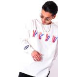 MEDM,Mr,Enjoy,Da,Money,ミスター,エンジョイ,ダ,マネー,Tシャツ,メンズ,レディース,長袖,ブランド,厚手,MEDM-202086-W
