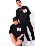 MEDM,Mr,Enjoy,Da,Money,ミスター,エンジョイ,ダ,マネー,Tシャツ,メンズ,レディース,半袖,ブランド,大きいサイズ,MEDM-ROSE-SS-T-B