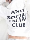 通販,Anti,Social,Social,Club,パーカー,アンチソーシャルソーシャルクラブ,Masochism,Zip,Up,Hoodie,スウェット,MINDGAMES-ZH-W
