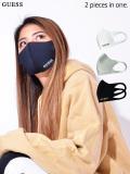 GUESS,ゲス,マスク,洗える,メンズ,レディース,ユニセックス,男女兼用,おしゃれ,洗えるマスク,ポリウレタンマスク,黒,MK2A7724RT