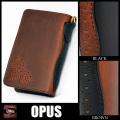 OPUS,オーパス,財布,メダリオン,ツートン,ミドル,ウォレット,US,Oil,レザー,牛革,OHW-05