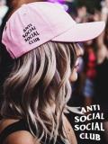 通販,Anti,Social,Social,Club,キャップ,アンチソーシャルソーシャルクラブ,帽子,WEIRD,CAP,PINK,ORIGINAL,LOGO,HAT,ORIGINAL-L-C-P