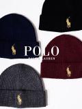 POLO,RALPH,LAUREN,ポロ,ラルフローレン,帽子,ニット帽,レディース,メンズ,ユニセックス,ブランド,GOLD,BIG,PONY,CUFF,HAT,PC0470