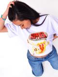 SUPPLIER,サプライヤー,Tシャツ,メンズ,レディース,半袖,ブランド,大きいサイズ,PIZZA,TEE