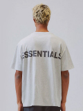 Fear,of,God,essentials,Tシャツ,メンズ,レディース,半袖,FOG,ESSENTIALS,フィア,オブ,ゴッド,Boxy,REFLECTIVE,グレー,REFLECTIVE-SS-G