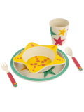 SUNNYLIFE,サニーライフ,食器セット,キッズ,子供,ベビー,お皿,ボウル,コップ,スプーン,フォーク,ECO,KIDS,星,スター,プレゼント,S86MEASF