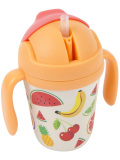 SUNNYLIFE,サニーライフ,コップ,子供,取っ手,蓋付き,300ml,KIDS,SIPPY,CUP,ストロー付き,S86SIPFS
