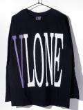 VLONE,ヴィーロン,ヴィーローン,Tシャツ,長袖,STAPLE,LONG,SLEEVE,SHIRT,LS,TEE,A$AP,Mob,エイサップモブ,STAPLE-LST-BP