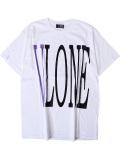 VLONE,ヴィーロン,ヴィーローン,Tシャツ,メンズ,レディース,ユニセックス,半袖,STAPLE,T-SHIRT,S/S,TEE,WHITE/PURPLE,STAPLE-SST-WP