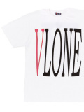 VLONE,ヴィーロン,ヴィーローン,Tシャツ,半袖,STAPLE,T-SHIRT,S/S,TEE,WHITE/RED,,A$AP,Mob,STAPLE-SST-WRB