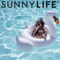 トップス,ボトムス,通販,SUNNYLIFE,サニーライフ,浮き輪,ベビースワン,ホワイト,Baby,Float,Swan,子供用,キッズ,ジュニア,sulbabsw