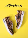 STARWALK,スターウォーク,スニーカー,メンズ,レディース,ローカット,EPISODE,2,ハラコ,ブラウン,レオパード,ゼブラ,SW1811-10036