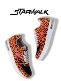 STARWALK,スターウォーク,スニーカー,メンズ,レディース,ブランド,ローカット,EPISODE,2,ハラコ,レオパード,ゼブラ,SW1811-10037