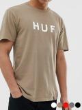 HUF,ハフ,Tシャツ,メンズ,レディース,ユニセックス,半袖,大きいサイズ,ESSENTIALS,OG,ORIGINAL,LOGO,S/S,TEE,エッセンシャルズ,TS00508