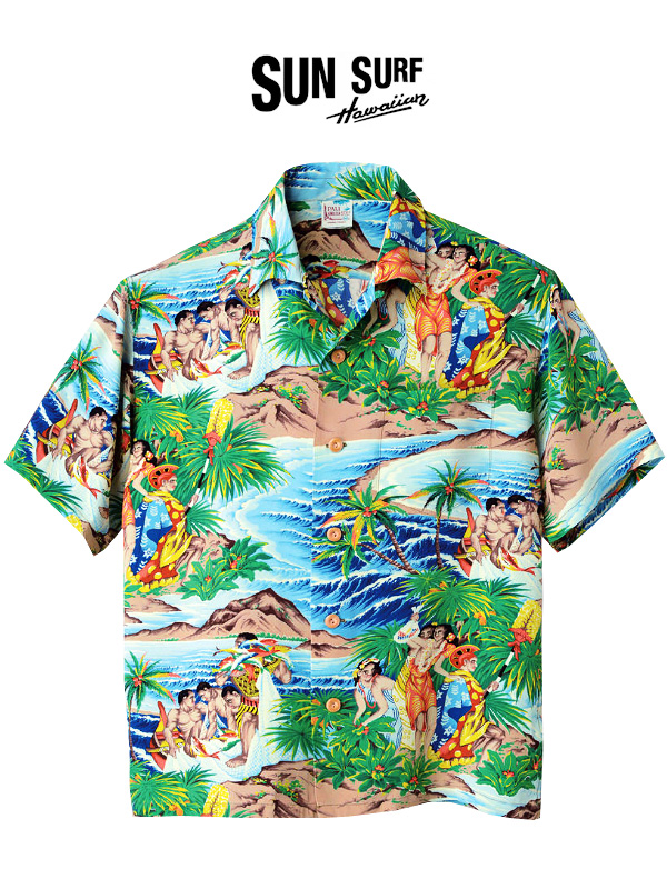 SUN,SURF,サンサーフ,アロハ,シャツ,アロハシャツ,メンズ,レディース,ユニセックス,大きいサイズ,Festival,SS37862