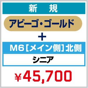 【新規】2021_FC 年会費(アビーゴ・ゴールド)+ シーズンシート_M6[メイン側]北側 シニア