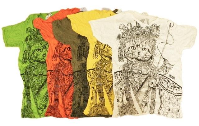 猫柄Tシャツメイン