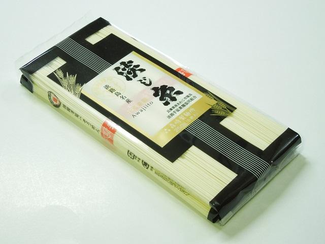 淡路島手延べそうめん 淡じ糸【赤帯】5束(250g)