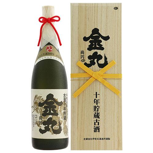 金丸 10年古酒 43度 1800ml