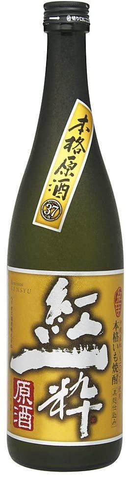 紅一粋 原酒 37度 720ml