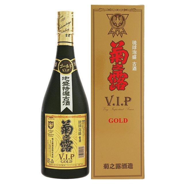 菊之露 古酒 V.I.Pゴールド30度 720ml