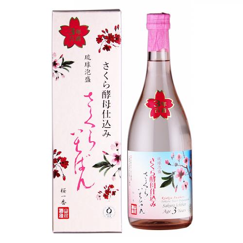 山川酒造 さくらいちばん さくら酵母仕込み 3年古酒 40度 720ml