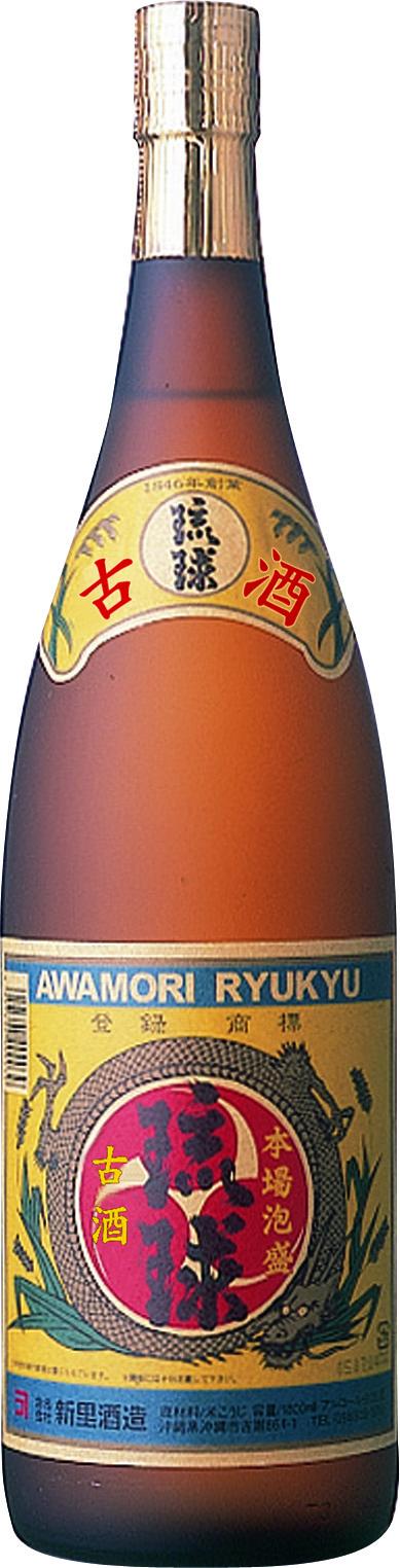 新里酒造 古酒 琉球クラシック 25度 1800ml
