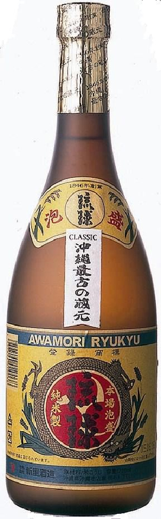 新里酒造 古酒 琉球クラシック 25度 720ml